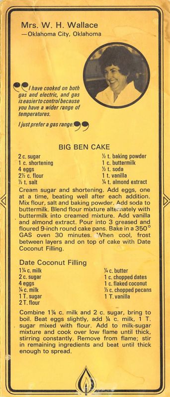 Mollie Wallace Big Ben Cake recipe